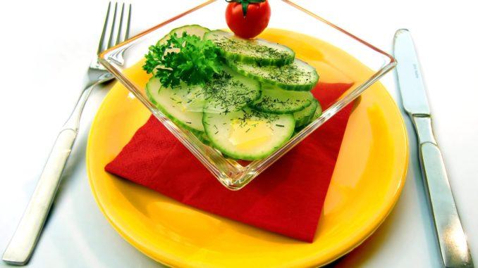 Fresh cucumber salad foodformyhealth.com