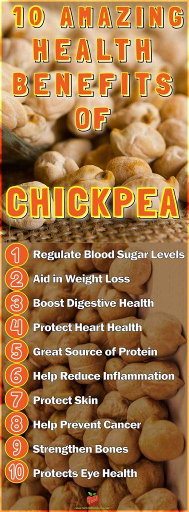 10 Amazing Health Benefits Of Chickpea